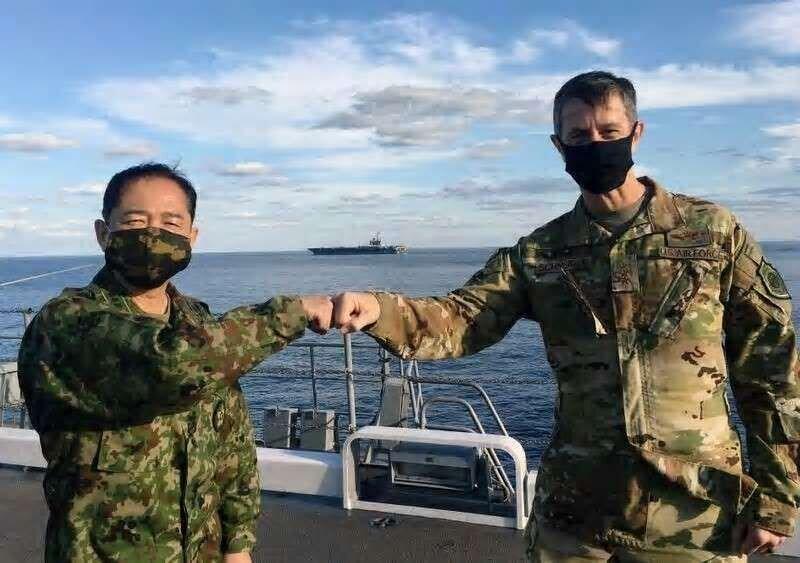 برگزاری رزمایش ژاپن و آمریکا برای مقابله با قدرت نظامی چین
