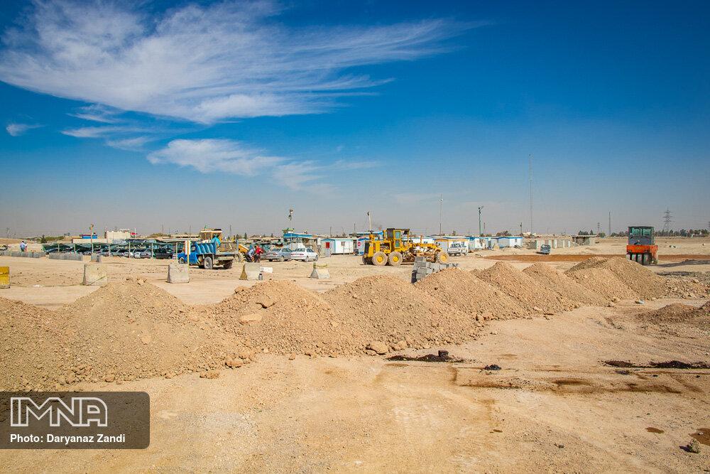 پروژه میدان جمهوری کرج همچنان تعطیل است