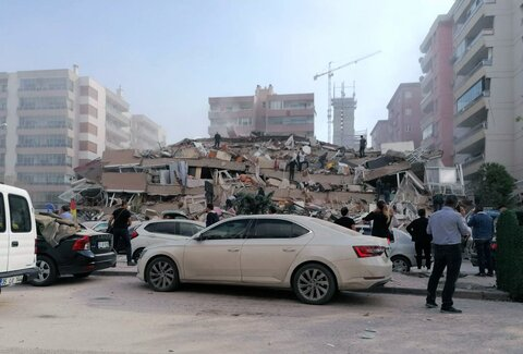 Destructive earthquake in Turkey, Greece
