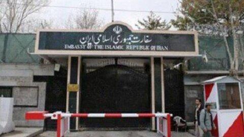بر خورد موشک به سفارت ایران در کابل