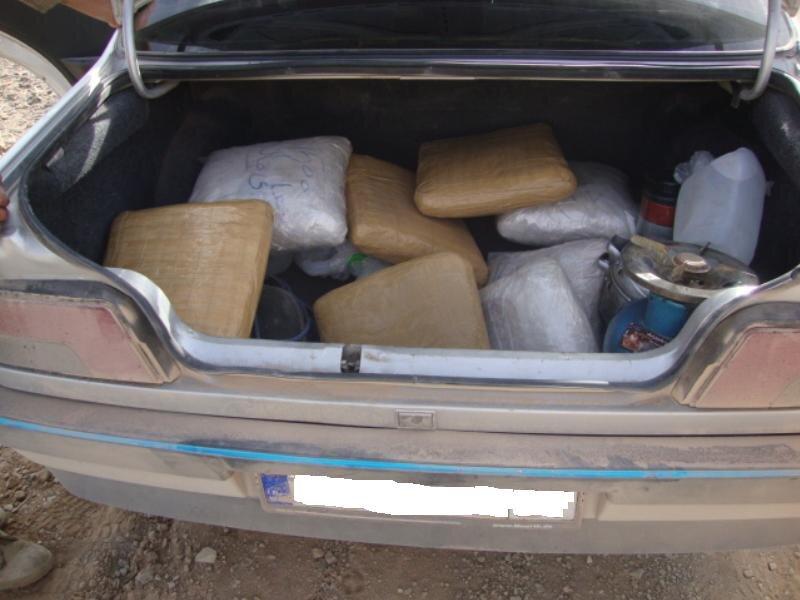 کشف بیش از ۱۷۴ کیلو تریاک در نائین