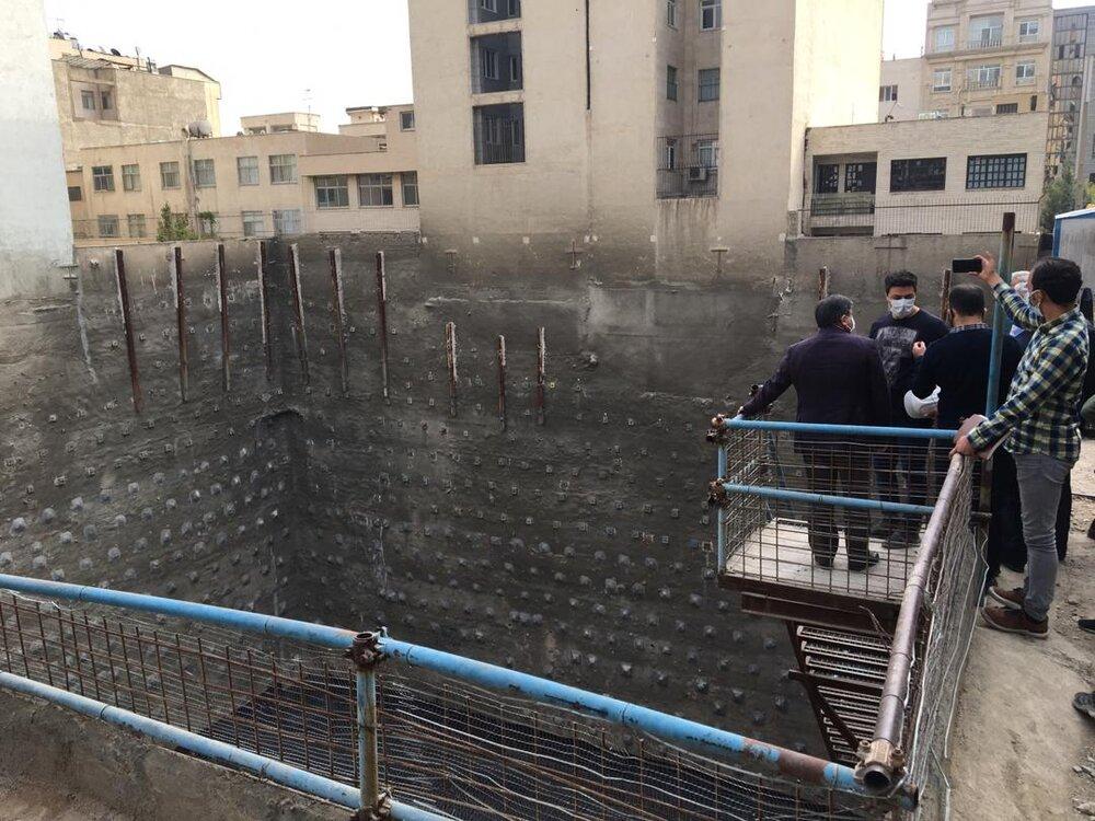 فاجعه در تهران با ریزش احتمالی گود خلعتبری