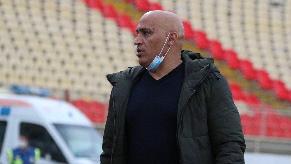 منصوریان:هر تیمی در یادگار امام عقب بازی خواهد کرد/ امیدوارم از داوری پنالتی طلبکار نشویم