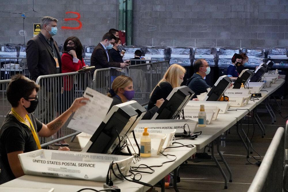 پایان رای گیری کالج الکترال ها برای اعلام نتایج نهایی انتخابات آمریکا