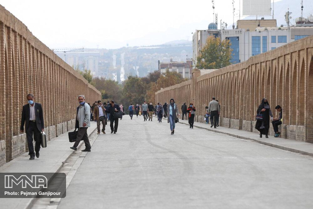 آخرین وضعیت رنگبندی شهرستانهای اصفهان در کرونا + جزئیات