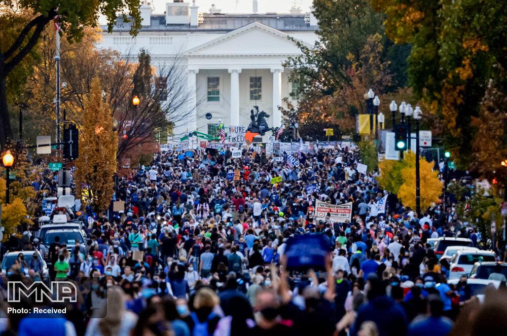 هواداران ترامپ به خیابان آمدند + فیلم