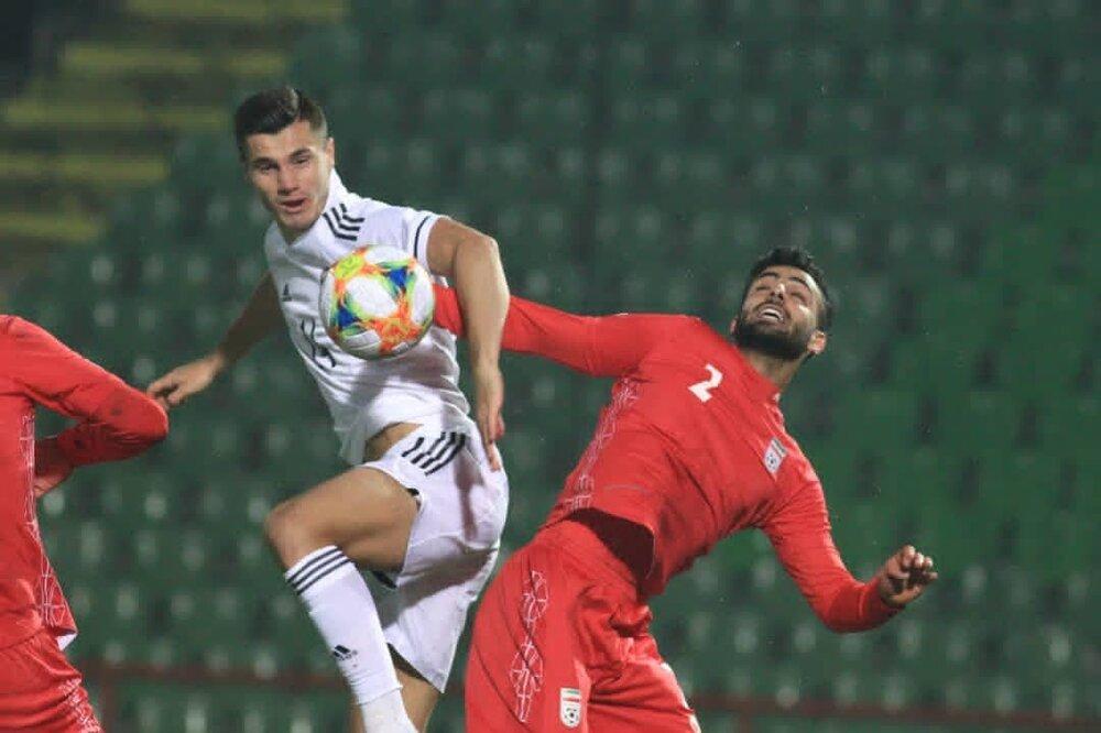 توقف یک نیمهای تیم ملی مقابل بوسنی