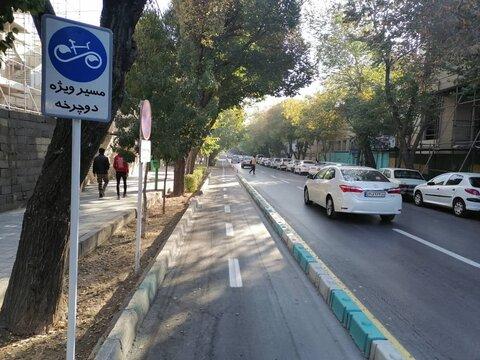 احداث ۲۷ کیلومتر مسیر دوچرخهسواری در منطقه ۵
