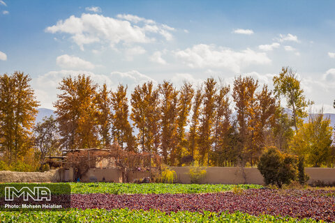Autumn in Isfahan