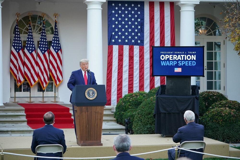 قبول تلویحی شکست توسط ترامپ: دولت بعدی به سمت قرنطینه نرود