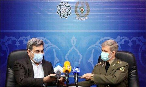 شهرداری تهران با وزارت دفاع تفاهمنامه همکاری امضا کرد