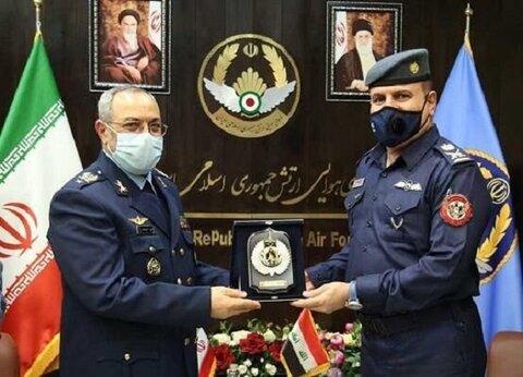 دیدار فرماندهان نیروی هوایی ارتش ایران و عراق