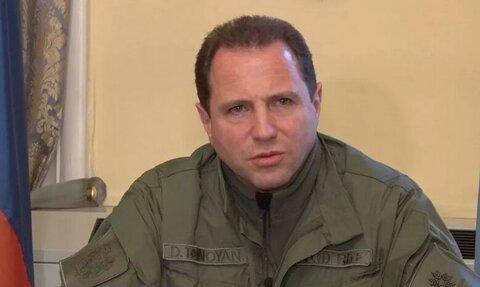 وزیر دفاع ارمنستان استعفا کرد