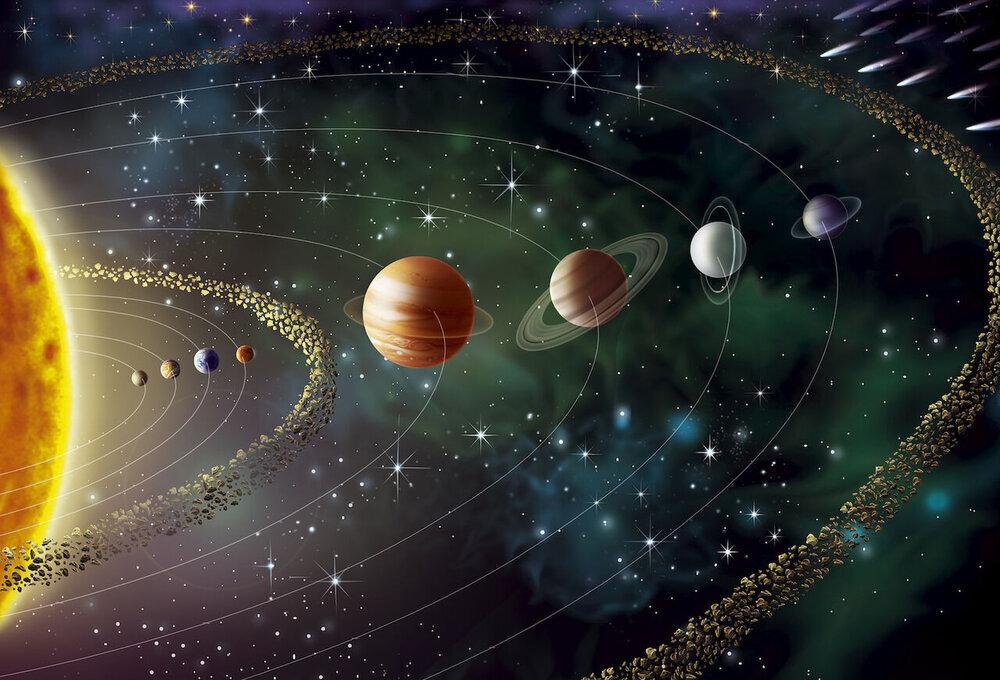 به درون منظومه شمسی سفر کنید