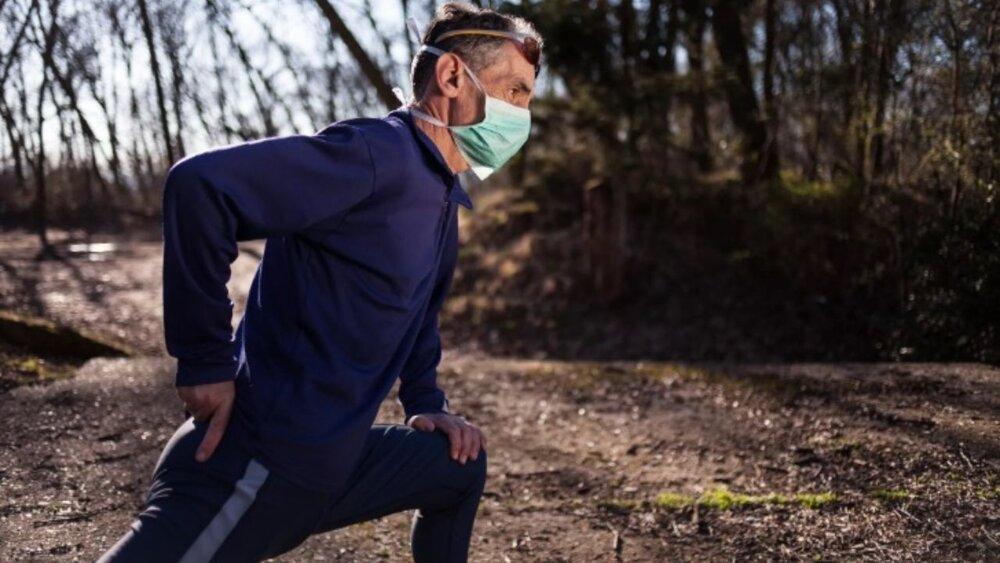 ماسک زدن هنگام ورزش عملکرد ریه را کاهش میدهد؟