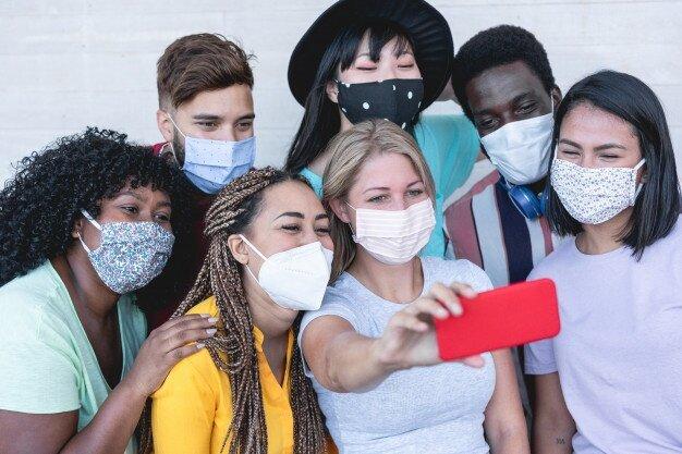 جنبش ماسک تیک تاک برای جوانان