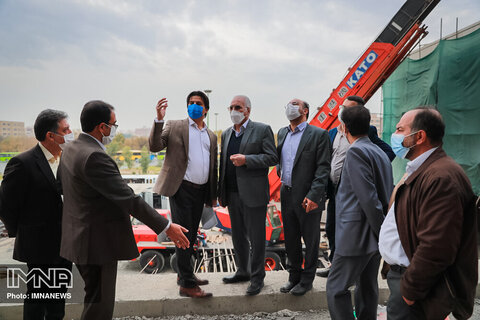 بازدید شهردار از روند پیشرفت پروژه ایستگاه علیخانی