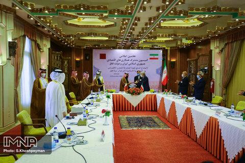 سند همکاری اقتصادی ایران و قطر به امضا رسید