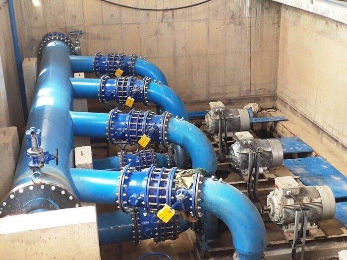 بهرهبرداری از پروژه ایستگاه پمپاژ و خط انتقال پساب زرینشهر