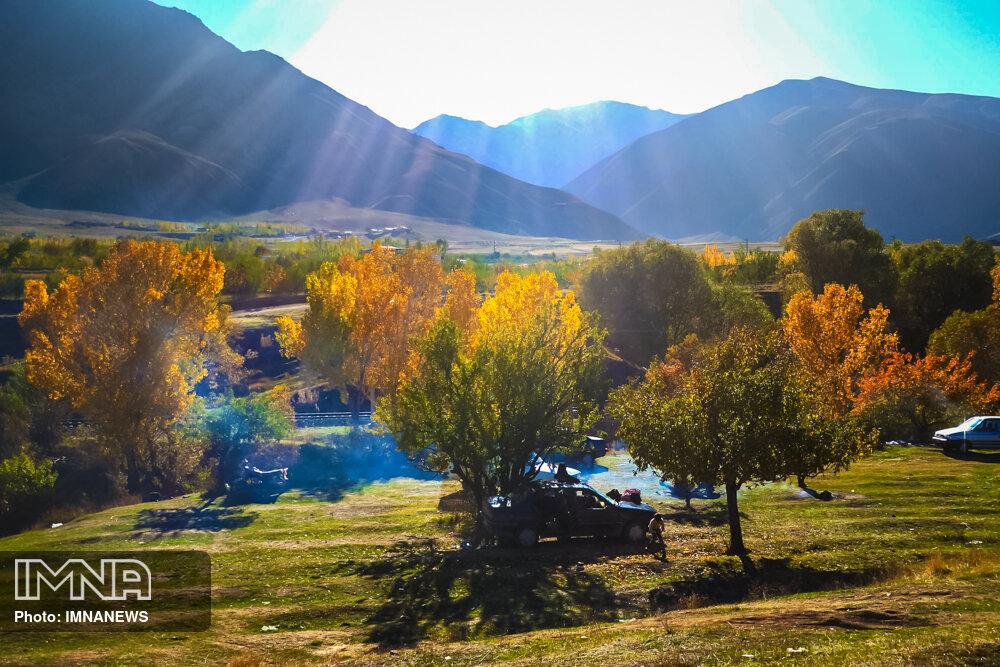 طبیعت تبریز به رنگ پاییز