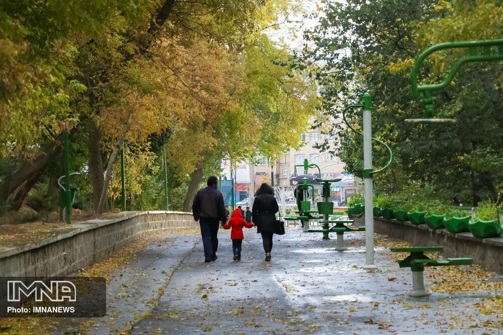 بازگشایی ۳۵ پارک کلانشهر تبریز