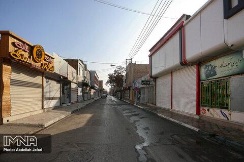 محدودیت های کرونایی در شهرستان مبارکه