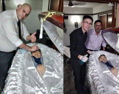 کسانی که با جنازه مارادونا سلفی گرفتند اخراج و تهدید به مرگ شدند!