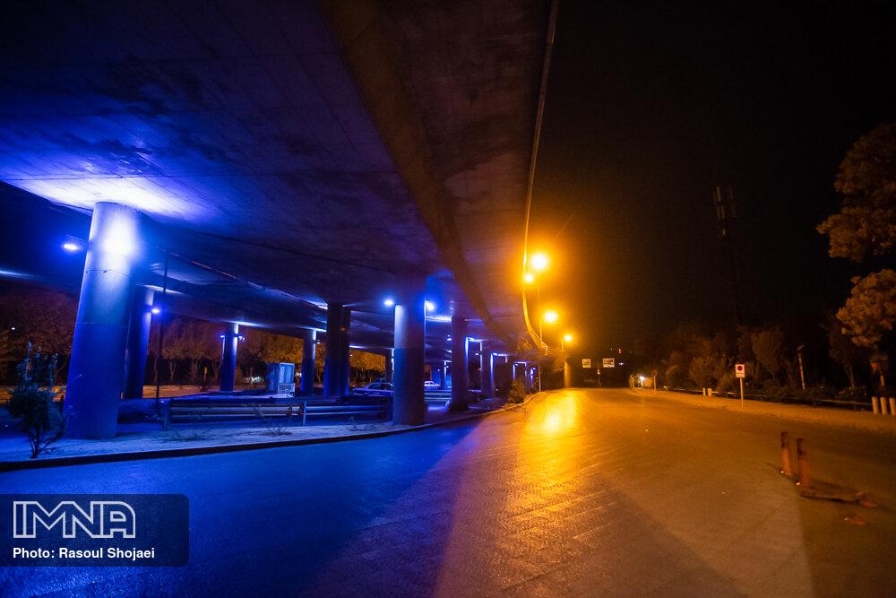 اصفهان پس از ساعت ۲۱