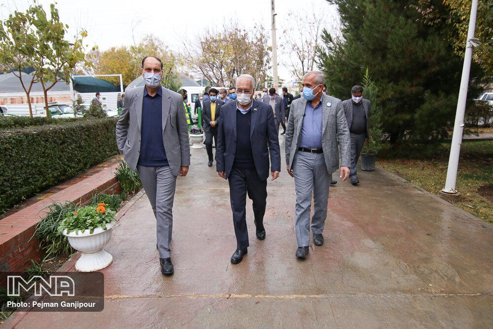 سه طلایهدار توسعه ماربینِ شهر اصفهان