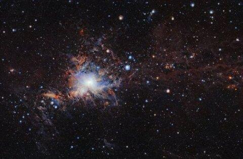 ستاره همدم V1787 Ori کشف شد
