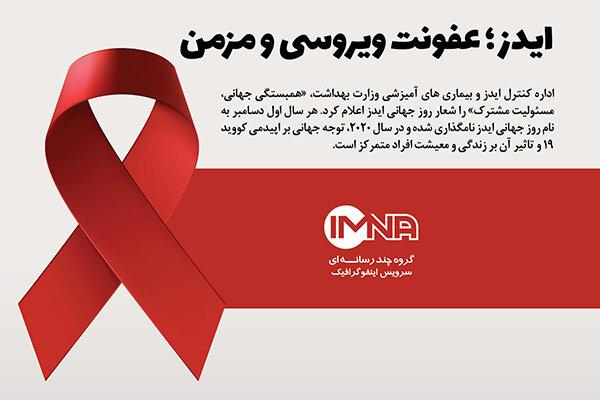 ایدز؛ عفونت ویروسی و مزمن
