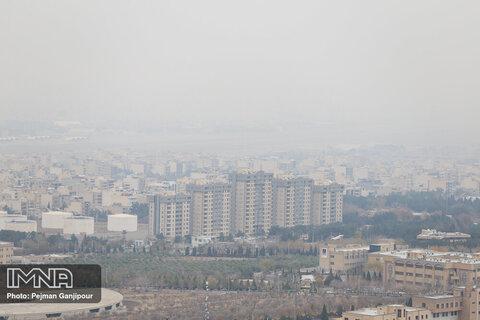 هوای اصفهان در وضعیت قرمز