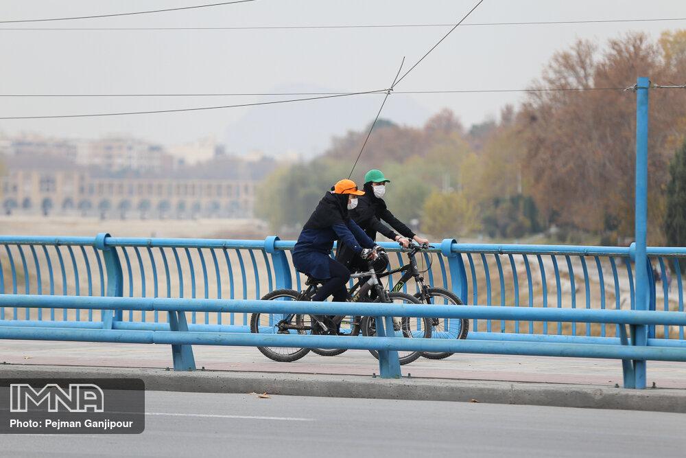 شاخص کیفی هوای اصفهان به ۱۴۲ رسید