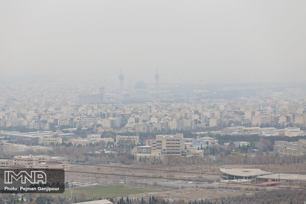 Isfahan municipality triggered air pollution