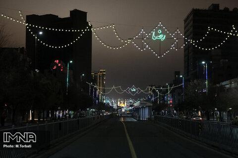 محدودیت های کرونایی در مشهد