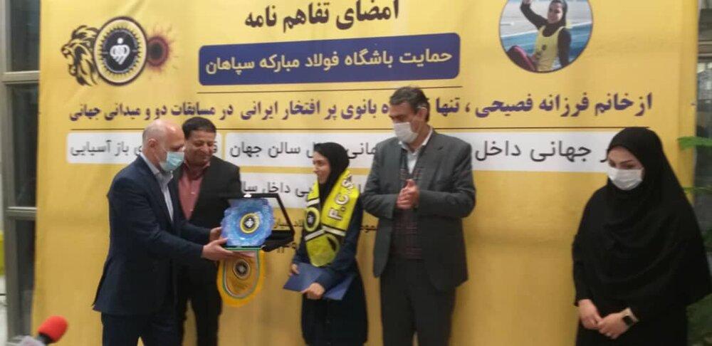 از بانوی باد ایران حمایت میکنیم/ هیئت های ورزشی باید به سمت پویایی و تحرک بروند