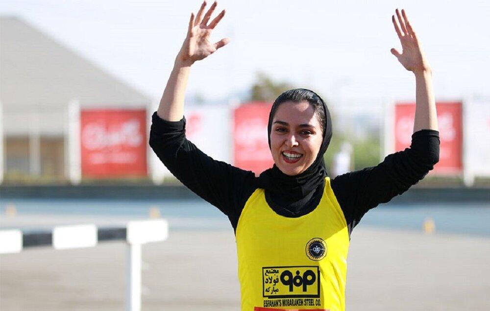 بانوی دونده اصفهانی در مسابقات جهانی چین حضور مییابد
