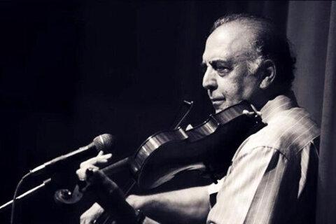 محمدرضا اتابکی نوازنده پیشکسوت ویولن دار فانی را وداع گفت