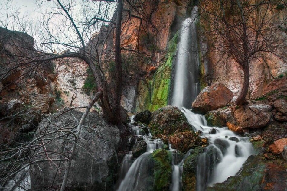 Shahan Dasht Waterfall