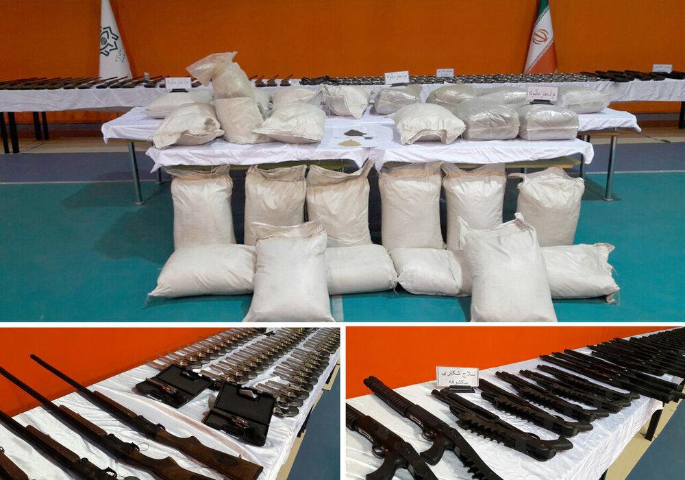 کشف حدود ۲۶ تن موادمخدر طی دو هفته گذشته در کشور
