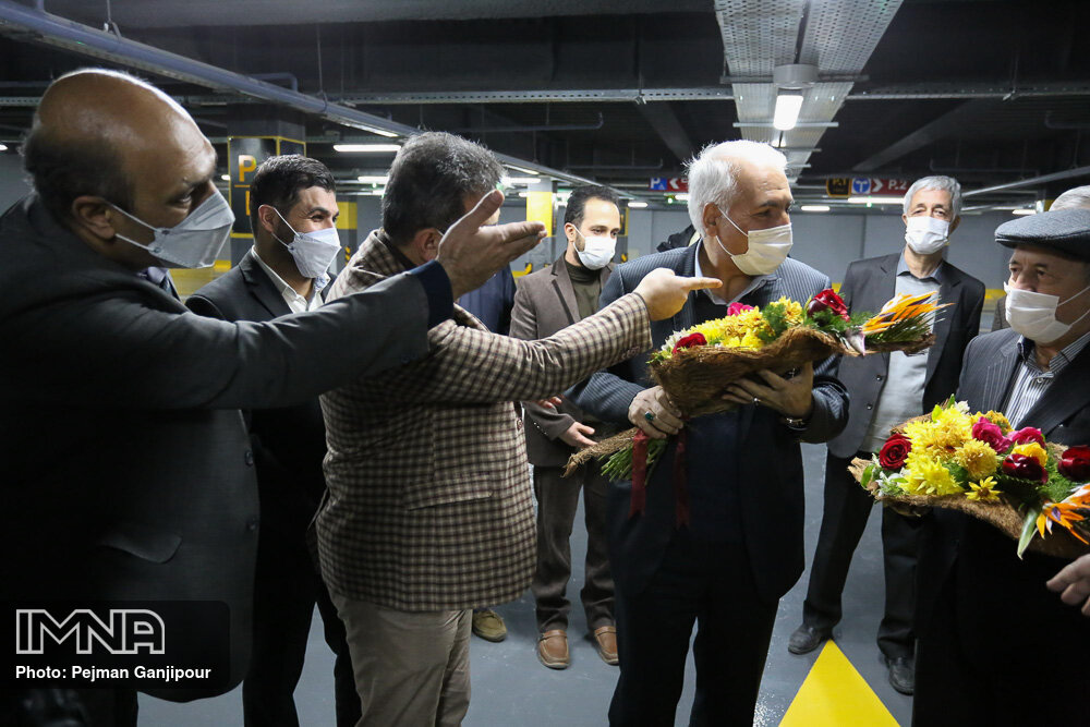 افتتاح پروژه های عمرانی خدماتی منطقه ۱۰ شهرداری اصفهان