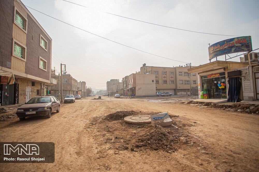 پروژههای ریز و درشت منطقه ۷ شهرداری اصفهان
