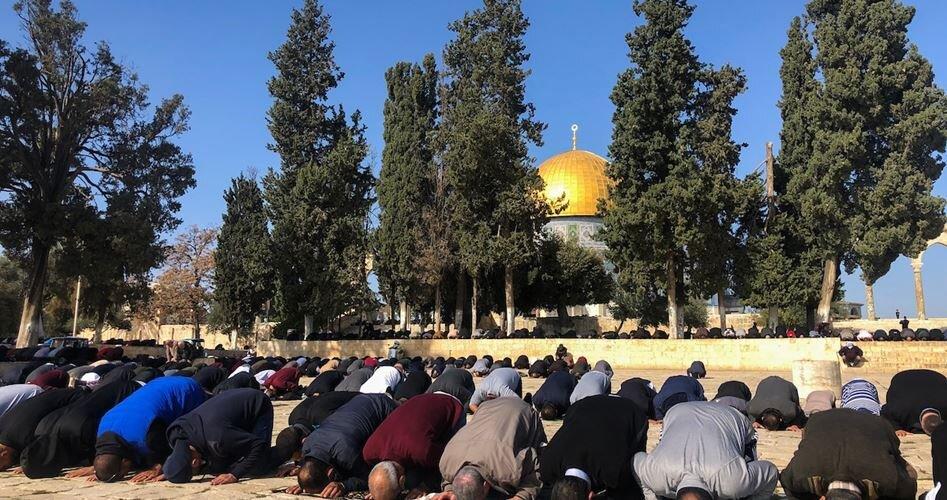 برگزاری نماز جمعه در مسجدالاقصی به رغم تدابیر امنیتی