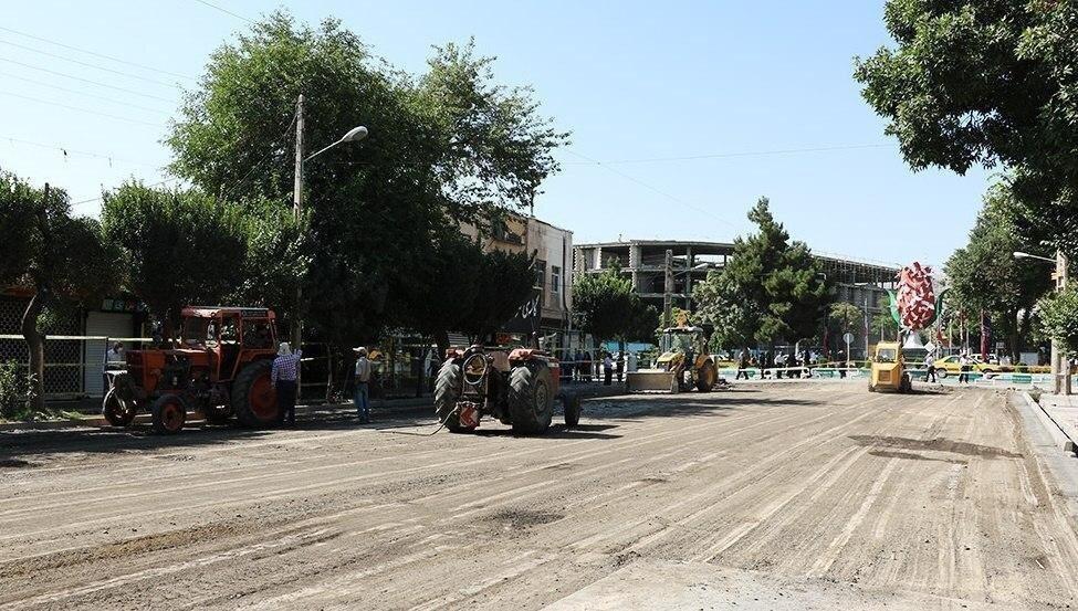 آغاز به کار عملیات اجرایی پروژه باغ ایرانی اراک