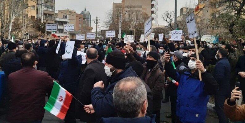 تجمع اعتراض آمیز مردم تبریز به سخنان اردوغان