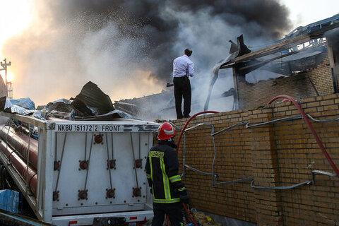 انفجار مهیب در شهرک صنعتی سلفچگان قم با ۲ کشته و ۶ مصدوم