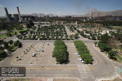 آلودگی هوا نفس اصفهان را برید