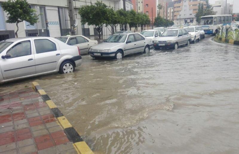 توجه ویژه شهرداری ساری به هدایت آب های سطحی