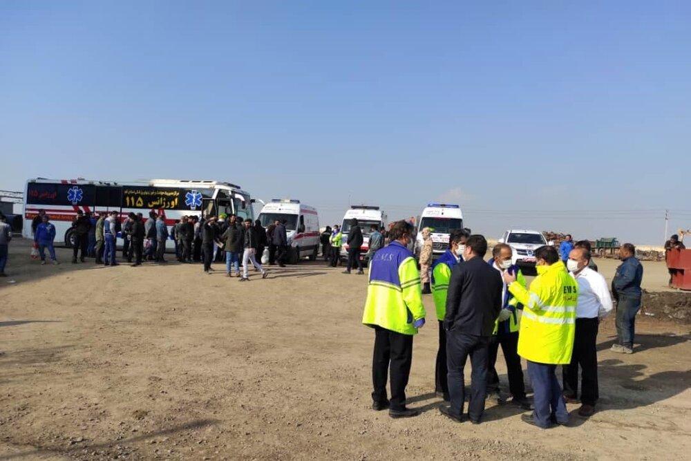 هویت دو کارگر کشته شده حادثه فولاد پردیس سلفچگان مشخص شد