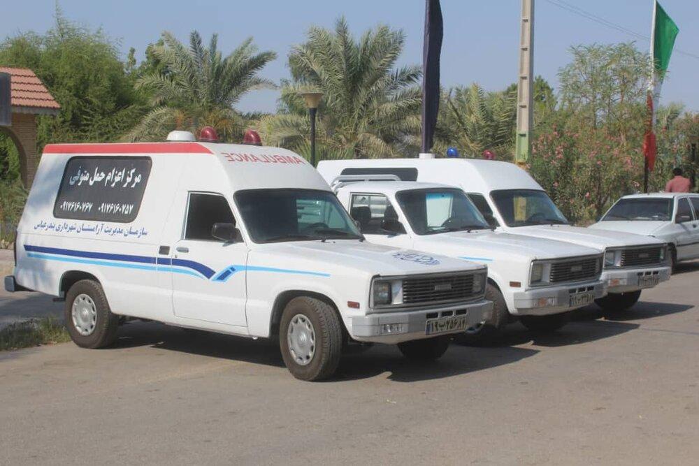 کارکنان آرامستان بندرعباس علیه بیماری کرونا واکسینه شدند